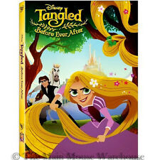 Tangled: The Series Pilot Before Ever After Rapunzel Animated Adventures on DVD