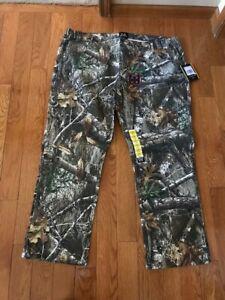 REALTREE Men's Edge Flex Camouflage 5 Pocket Hunting Pants Size 2XL X 31 NWT