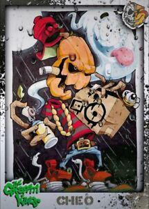 Graffiti Kings CHEO 41 - Digital NFT Art Card - Legendary Mint #285 RARE!!