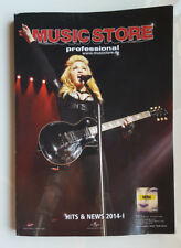"MADONNA - METALLICA - PARADISE LOST ""MUSIC STORE PROFESSIONAL"" CATHALOGUE 2014"