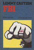 (Peter Cheyney) FBI Lemmy caution 1971 1 edizione omnibus Mondadori