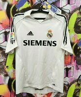 Real Madrid FC Spain 2005 Adidas Football Shirt Soccer Jersey Top Mens Size S