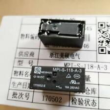 MPI-S-118-A-3 18VDC Power Relay 16A 250VAC 6 Pins HF115F-018-1HS3 x 10pcs