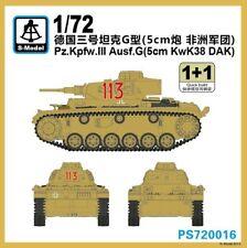S-Model PS720016 1/72 WWII German Pz.Kpfw.III Ausf.G (5cm KwK38 DAK)