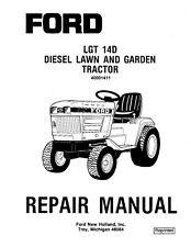 FORD NEW HOLLAND LGT 14D TRACTOR SERVICE MANUAL