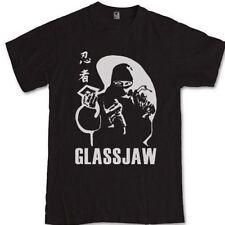 GLASSJAW ninja T-shirt S M L XL 2XL 3XL post hardcore band Head Automatica
