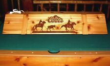 Team Roping Horse Coors Pool Table Poker Billiards Light