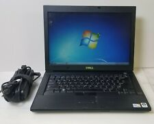 "Dell Latitude E6400 Core 2 Duo P9600 2.66 GHz 4 GB RAM 250 GB HDD 14"" *w/Charger"