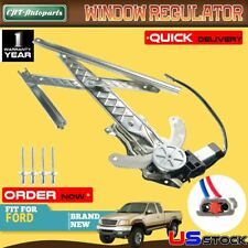 Power Window Regulator W/ Motor for Ford F-150 99-03 Heritage F-250 Driver Side