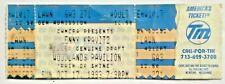 Lenny Kravitz Concert Ticket OCT 17, 1993