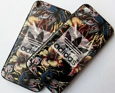 Apple iPhone 6Plus Flower Pattern Adidas Logo Phone Case Cover