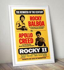 Vintage Movie Poster, Rocky Print, Rocky Balboa Poster