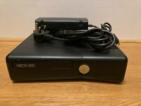 MICROSOFT XBOX 360  4GB GAMES CONSOLE ONLY TESTED FREE P&P