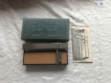 Vintage Suredge Razor Blade Hone or Strop in the Original Box - Looks Unused