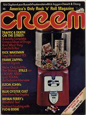 CREEM Magazine Sep 1974 Clapton Mick Jagger Zappa Blue Oyster Cult Bryan Ferry