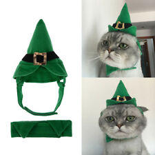 Cute Pet Cat Dog Cap Hat Christmas Costume For Puppy Animal Xmas Gift Decoration