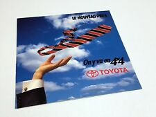 1997 Toyota RAV4 Preview Brochure - French