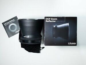 Profoto OCF Zoom Reflector 100772 B1X B1 B2 D1 D2- Never used