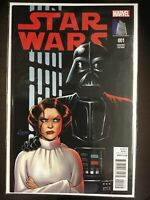 Star Wars #1 2015 Marvel Connor Variant Cover Color Vault Collectibles