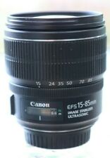 Canon EF-S 15-85mm f/3.5-5.6 IS Lens  t3i t4i  60D 70D 80D 7D ref 803204236