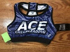 Youth Large Royal Blue Sports Bra Ace Brand New Cheerleading