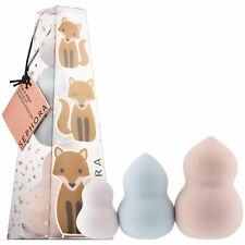 SEPHORA COLLECTION Fox In The Box Sponge Set 3 Pieces Sealed With Tag New