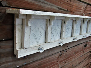 VINTAGE STYLE TIN SHELF **HANDMADE IN TEXAS** MANY SIZES AVAILABLE DISTRESSED