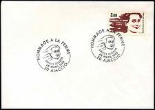 France 1983 DANIELLE CASANOVA, spécial H / S Couverture #C 33515