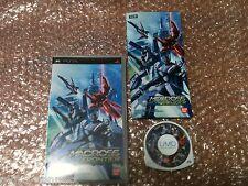 Macross Ace Frontier Sony PSP Import Japan