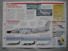 Aircraft of the World Card 117 , Group 5 - Embraer EMB-110/111 Bandeirante