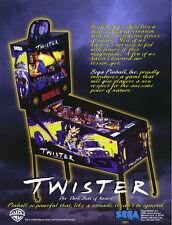 Sega Twister pinball magnet board chip ic u1