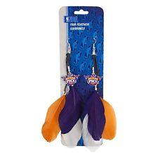 Phoenix Suns Feather Earrings