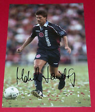 MICHAEL LAUDRUP AJAX AMSTERDAM AUTOGRAPH HAND SIGNED 12X8 PHOTO SOCCER