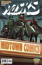 MASKS 1 RARE MIDTOWN COMICS VARIANT DYNAMITE ALEX ROSS SHADOW GREEN HORNET