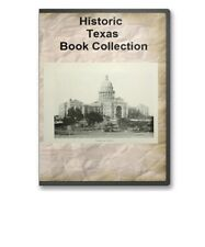 46 Old Texas TX State County History Culture Family Tree Genealogy Books - B317
