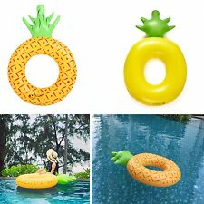 70cm Kids Child Pineapple Inflatable Float Water Toy Pool Summer Swimming Ring