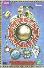 WALLACE & GROMIT'S World of Inventions NEW/Unsealed Region 2