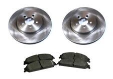 NEW FRONT BEAKE DISC AND PAD SET FOR CHRYSLER 300C 04-10 DODGE MAGNUM 04-08