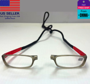 FASHION CLICK Adjustable Magnetic Front Connect Reading glasses,1.0-4.0 unisex