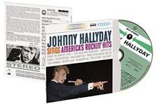 Sings America's Rockin Hits - Johnny Hallyday (2018, CD NEUF)