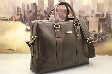 BROOKS BROTHERS Vintage Leather Executive Business Briefcase Bag Men MSRP$520.00