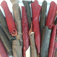1kg Big Beautiful  scraps/ Off cuts Leather Italian 3 colours