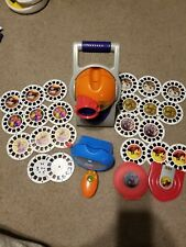 Fisher Price View Master Projector Super Sound Thomas Incredibles Pooh  Lot