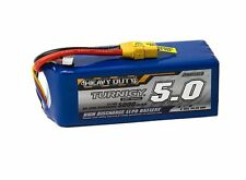 RC Turnigy Heavy Duty 5000mAh 6S 60C Lipo Pack w/XT-90