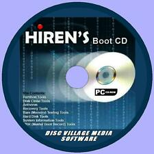 Hirens Boot Disco utilidad Cd De Respaldo Fix lento funcionamiento Crash errores Pc / Laptop Nueva