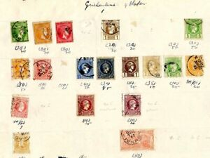 Stamps of Greece including Epirus; 70 mostly used stamps from 100 years ago