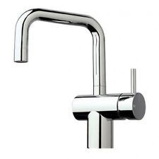 Sussex SCALA SMALL SQUARE BASIN/SINK MIXER 240mm Right Hand, WELS 4 Star CHROME
