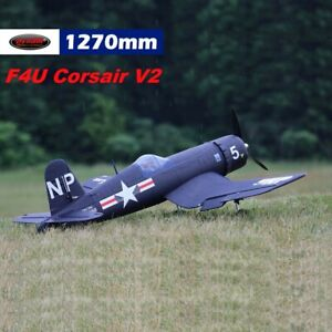 Dynam F4U Corsair V2 1270mm Wingspan - PNP Bundle (Radio, Battery, Charger)