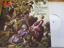 6580 015 Haydn The Seasons (h/ls) / Davis etc. TEST PRESSING