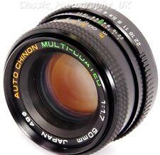 Auto CHINON 1:1.7 50mm F1.7 MULTI-Coated Lens for Pentax-K Film & DIGITAL SLR